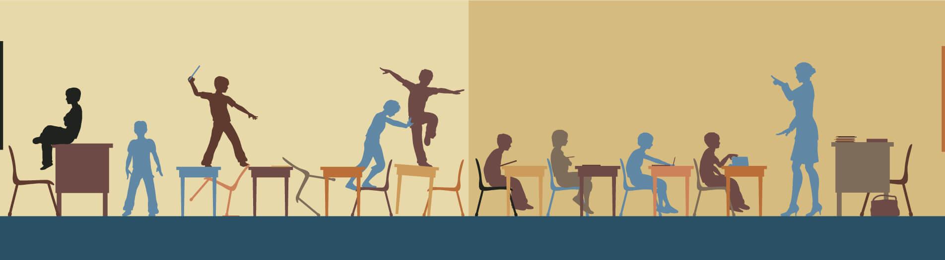 چالش نظم در کلاس