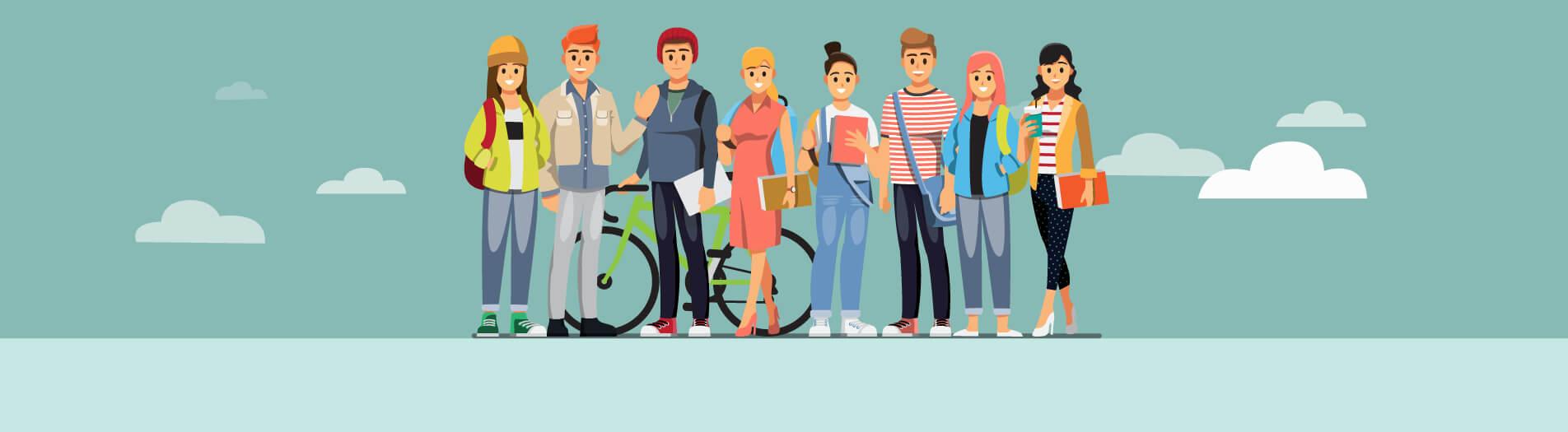 ۶ واقعیت دربارهی نوجوانان