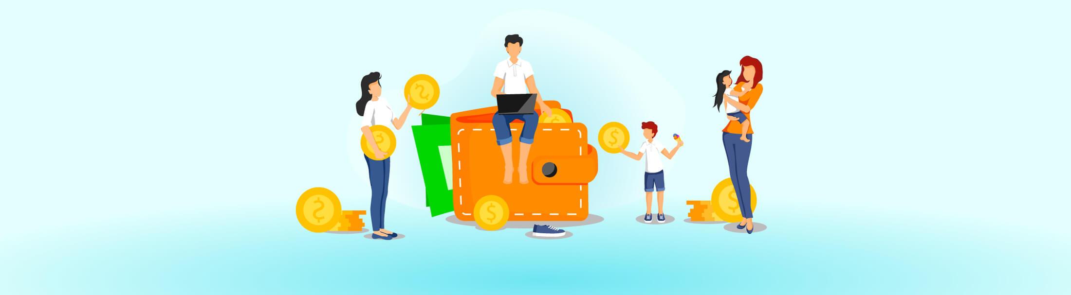 گفتوگو با کودکان و نوجوانان دربارهی بحران مالی در خانواده