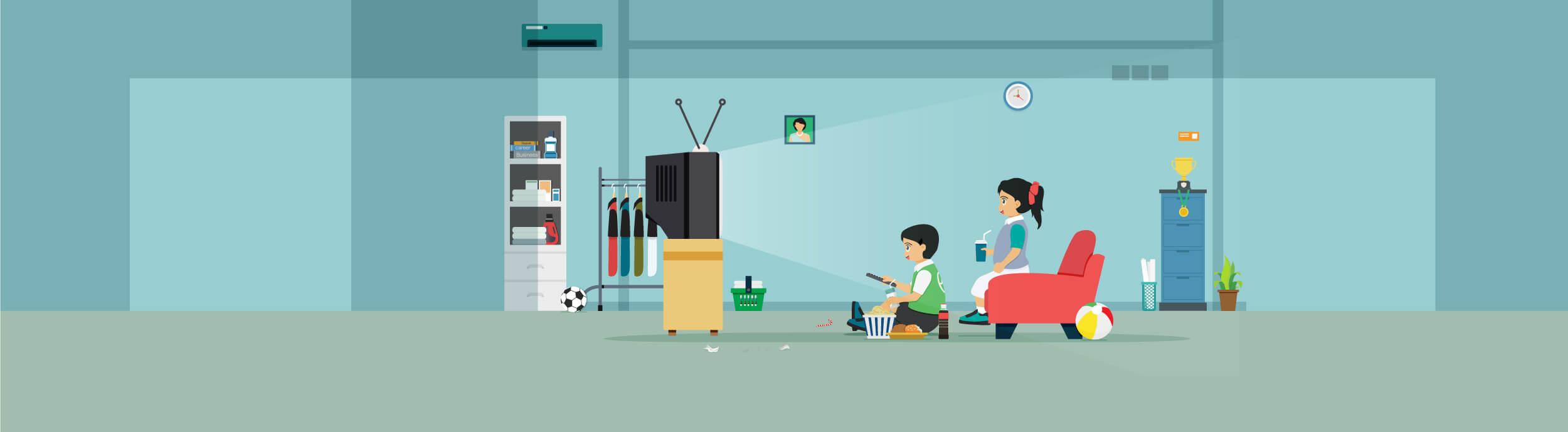 تلویزیون، تبلت و تلفن برای بچهها خطرناک است؟